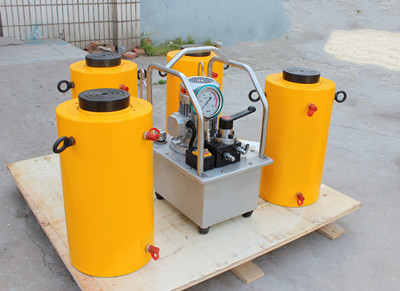 500 tons double acting hydraulic jack