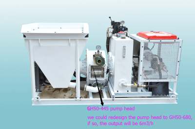 peristaltic pump concrete