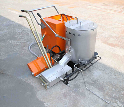 hand push thermoplastic road marking machine