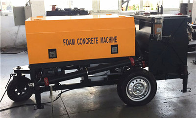 foam concrete machine in Indonesia