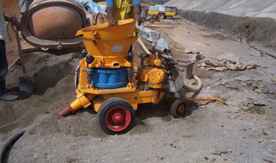 supply concrete shotcrete machine