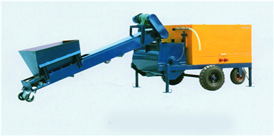 GF5 foam cement machine for floor-heating foamed cement insulation layer