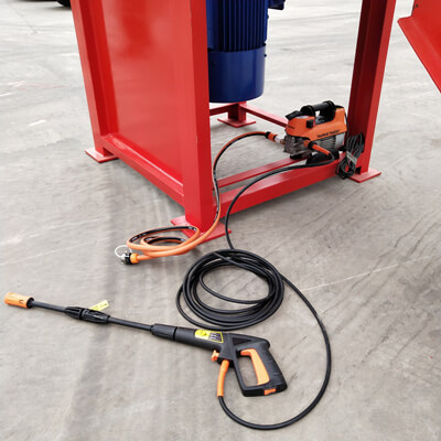 High pressure water washer device