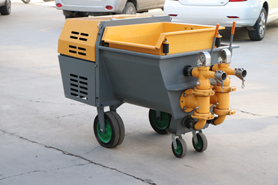 mortar pump for spraying works