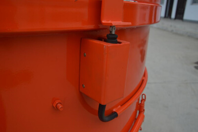 Limit switch for refractory mixer