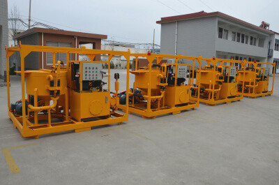 Hydraulic Grout Station