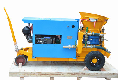 Diesel Shotcrete machine manufacturer