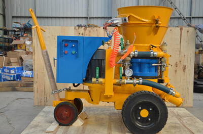 refractory guniting machine supplier in Dubai