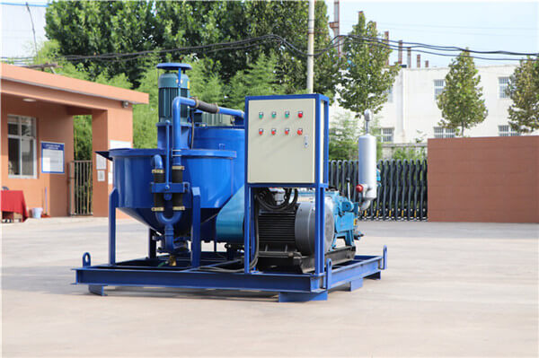 slurry mixer and pump