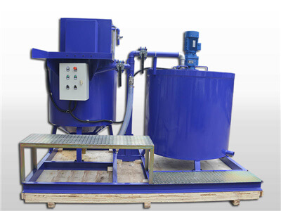 cement grout machine