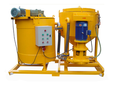 supplies grouting equipment agitator