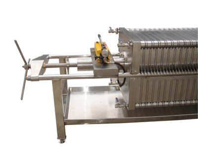 beverage industry filter press