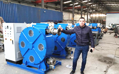 large peristaltic pump