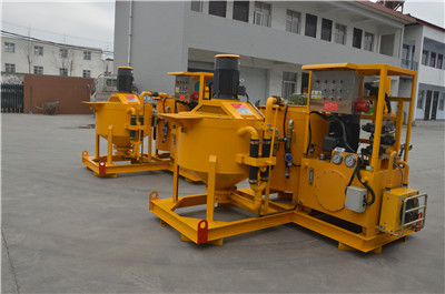 colloidal grout mixer pump