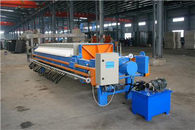 pharmaceutical wastewater treatment filter press