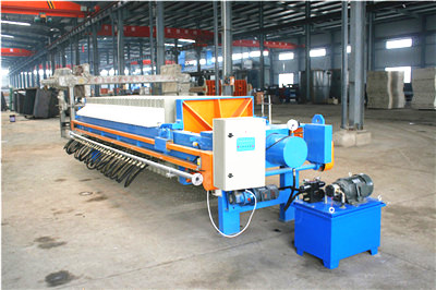 filter press machine for mineral