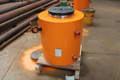 1000 tons double acting hydraulic jack