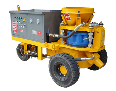 Philippines wet mix shotcrete machine