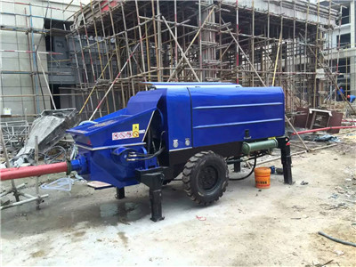 rental price for concrete pump
