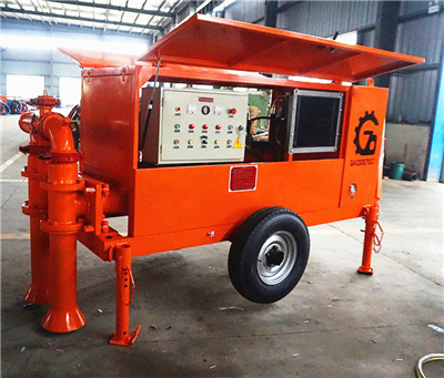 foam cement slurry mixer