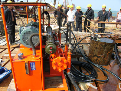 electric chemical grout pump