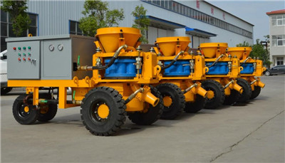 wet tunnel shotcrete machine
