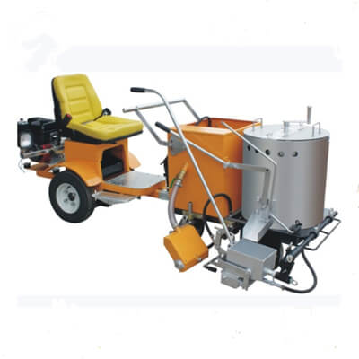 vehicle booster thermoplastic road marking machine