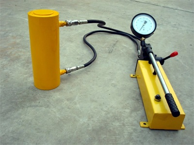 100ton hydraulic jack and manual pump