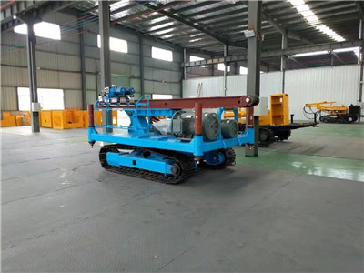 diesel anchoring drilling rig