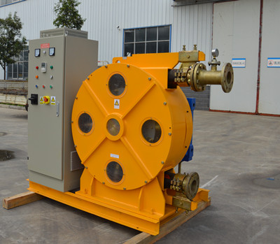 Peristaltic hose pumps for Chemical industry