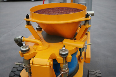 shotcrete machine for grid slope project