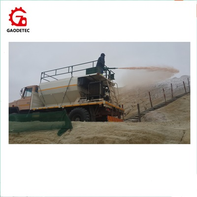hydraulic transmission grass seeds planting