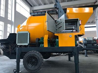 China made concrete mixer pump