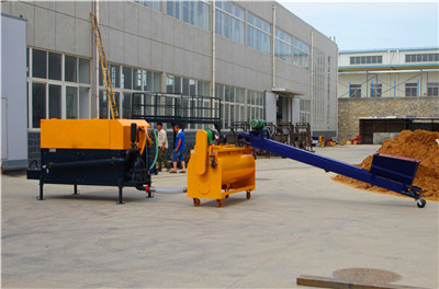 foamcrete machine for hollow wallboard casting