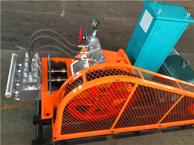drill mud pump for borehole