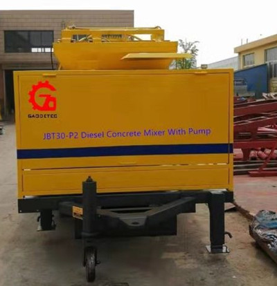 trailer diesel concrete pump cannot pump water