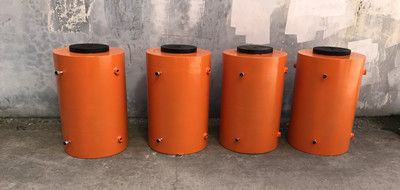 400 tons hydraulic jack cylinder and electric oil pump