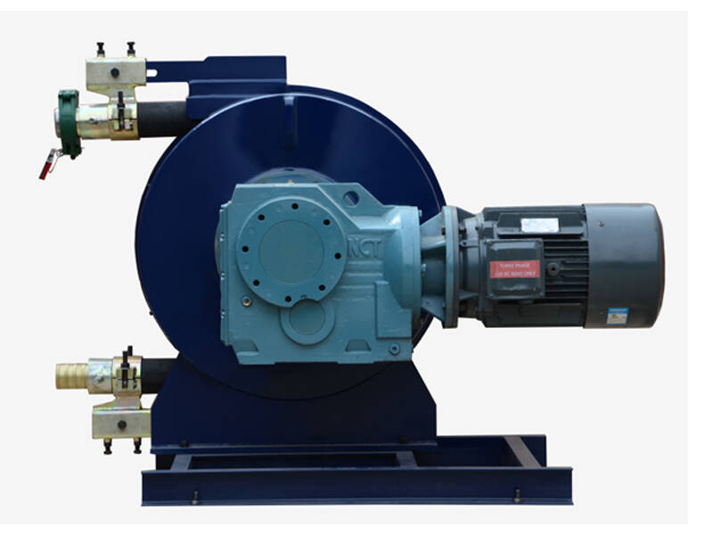 hose pump for grouting cement