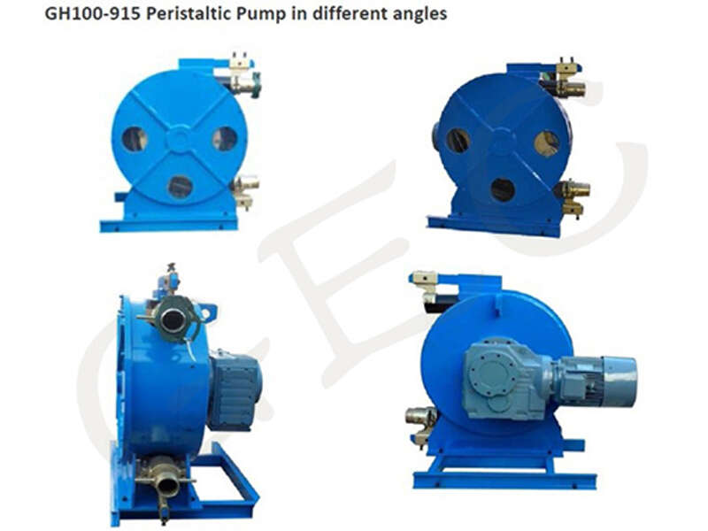 hose pump for pumping foam concrete