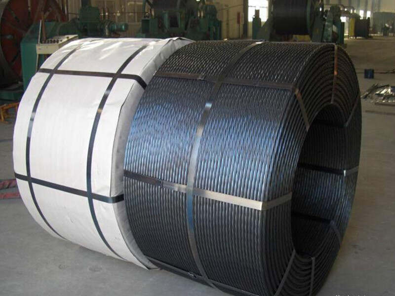 prestressed concrete cable