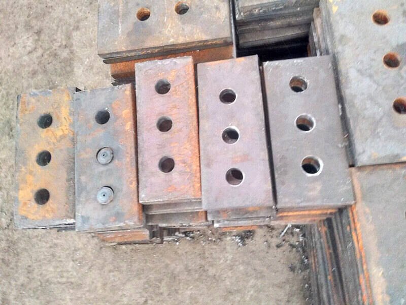 steel berang plate anchor used