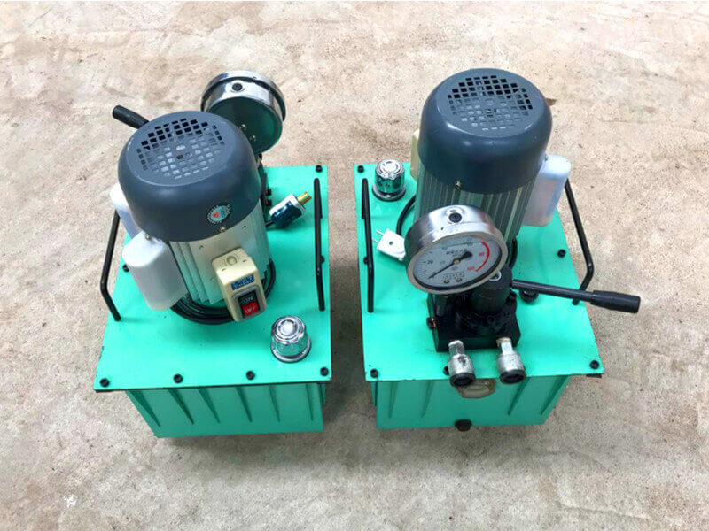 single acting electric oil pump used for hydraulic jack