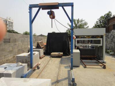 Foam concrete wire cutting machine for Foam concrete blocks