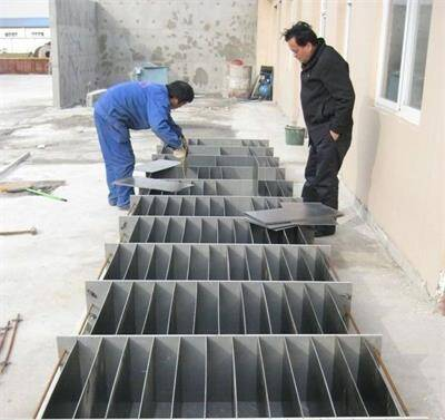 Manual Mold For Making Lightweight Concrete Block