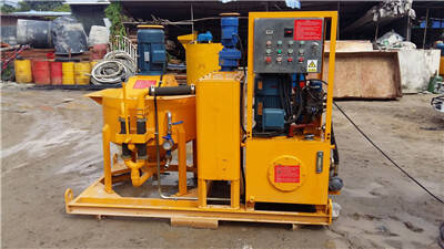 Hot selling grout pump in Vietnam