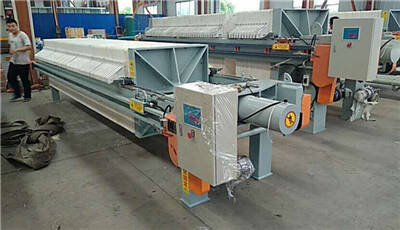 Plate frame filter press for sale in Thailand