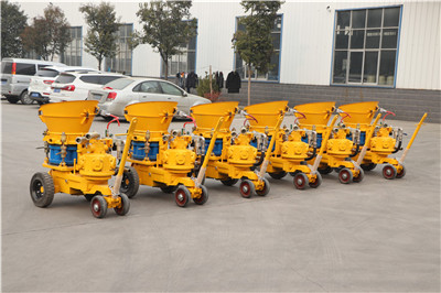 Shotcrete machine were deliver to Indonesia for slope protect