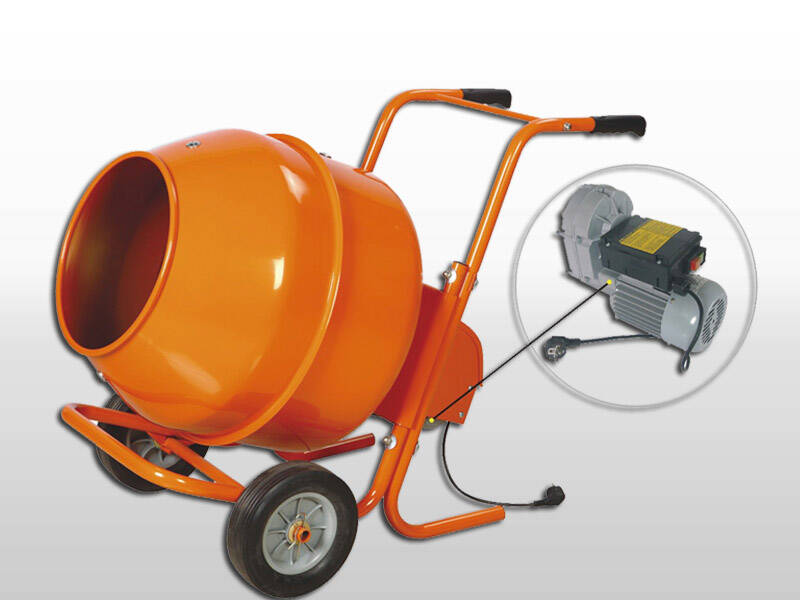 Used Small Cement Mixers : Portable mini cement sand concrete mixer machine