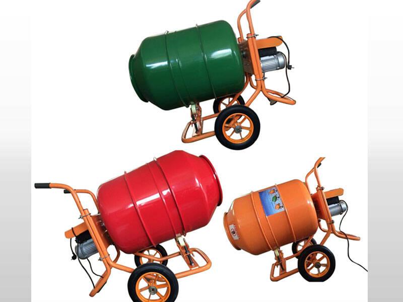 machine concrete mixer