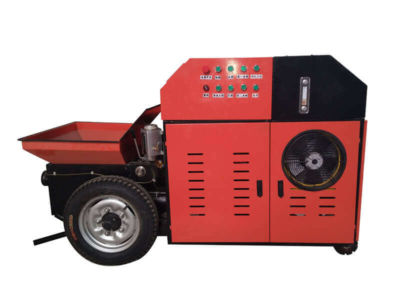 portable concrete grouting pump